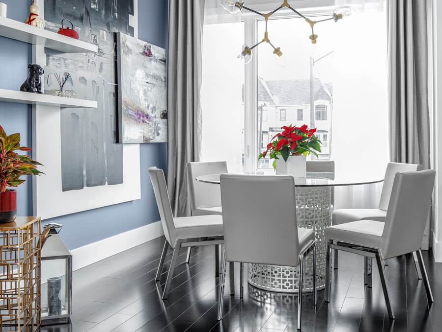 High Chic Dining Room
