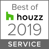 Awarded Best of Houzz 2019 Service