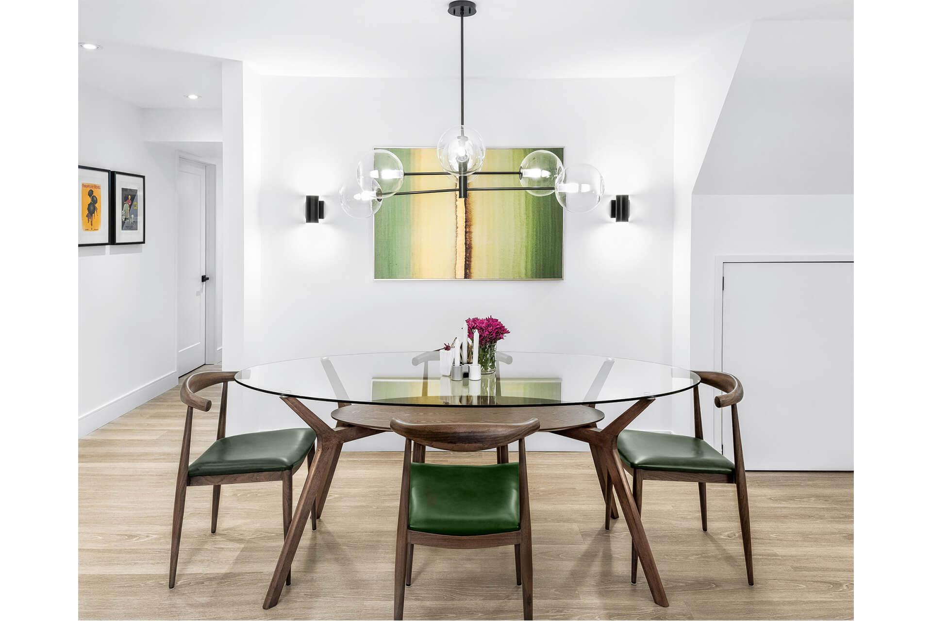 basement apartment, basement renovation, bright airy basement., couple/ millenial home, functional interiors, interiors, light warm interiors, scandinavian design, tropical green accents, vaughan