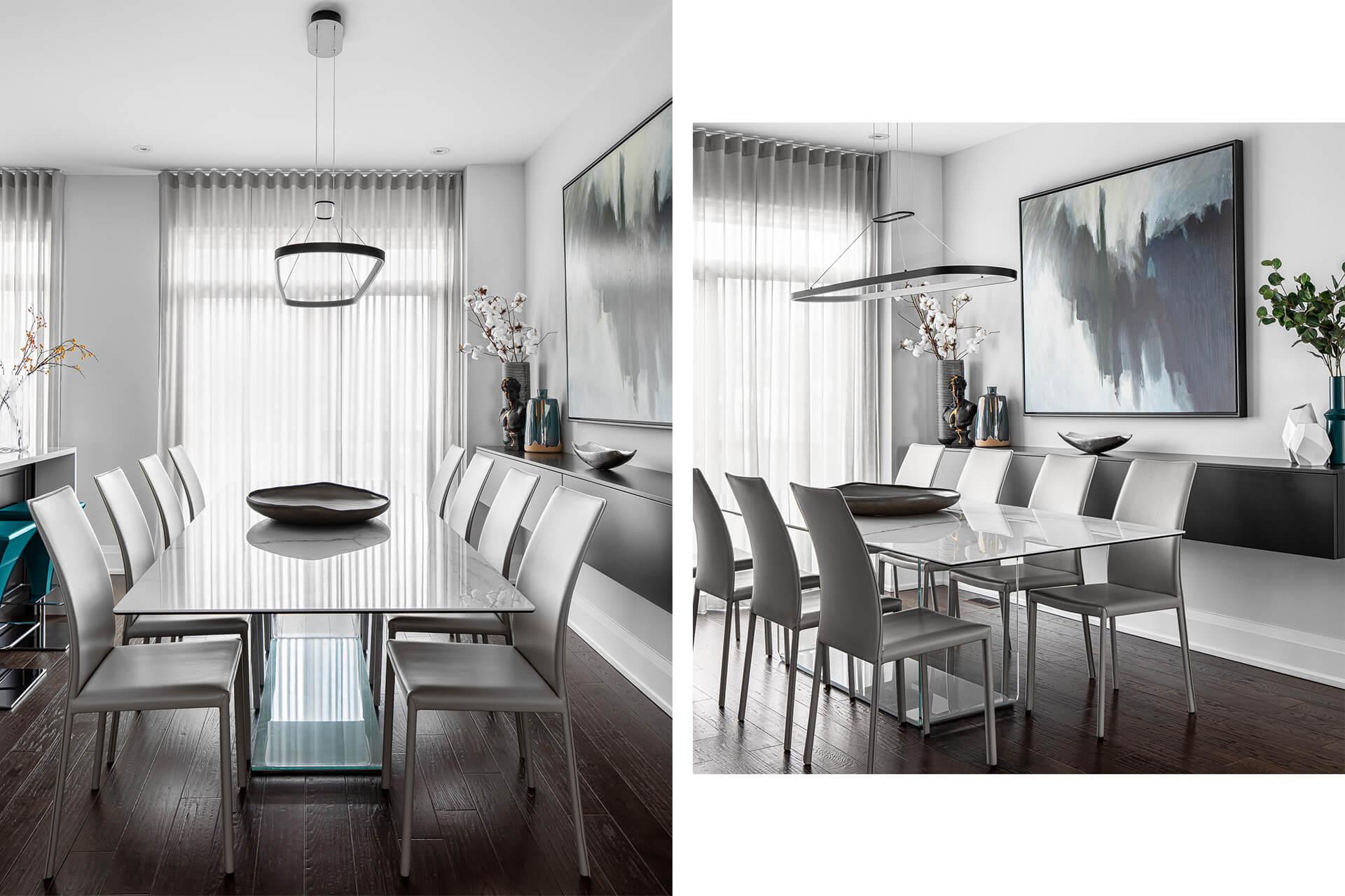 Modern Italian Dining Room