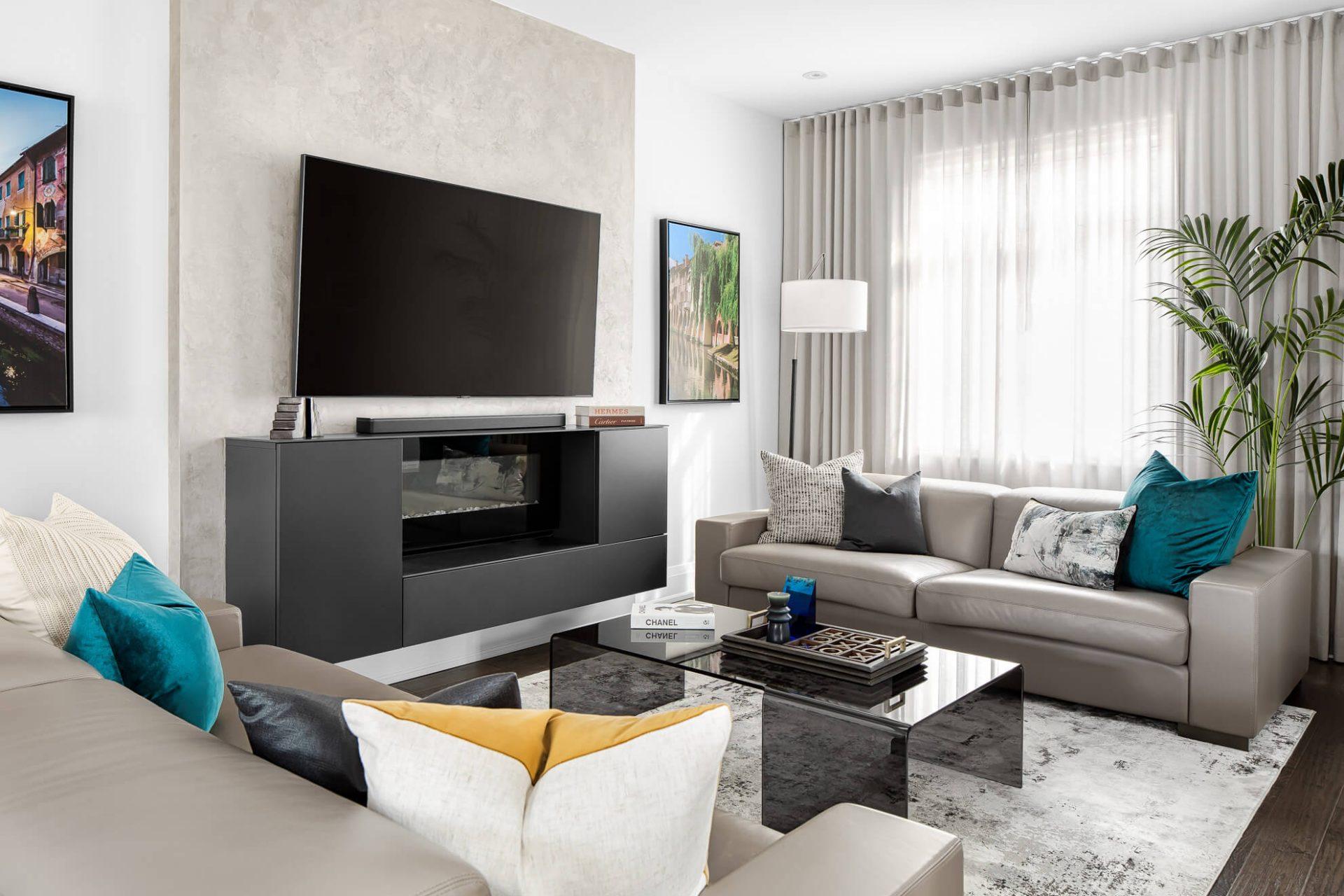 Modern Italian Living Room